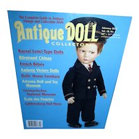 Antique Doll Collector Feb 2015 Raynal Lenci Type Dolls and more Mint!