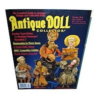 Antique Doll Collector Oct 2016 A French Dolls' House Flossie Fisher's Own Doll and more!