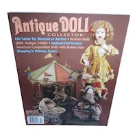 Antique Doll Collector October 2010 Kestner Dolls. American Composition and more Mint!