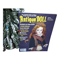 Antique Doll Collector May 2014  French Cloth Dolls, Sonneberg Dolls more Mint!