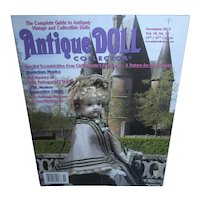 Antique Doll Collector November 2015 Chiffonette's Trousseau and more Mint!