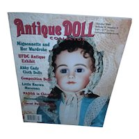 Antique Doll Collector Oct 2003 Mignonnette and Her Wardrobe and more!