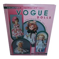 Collector's Encyclopedia of Vogue Dolls Identification and Values Mint and Unused!