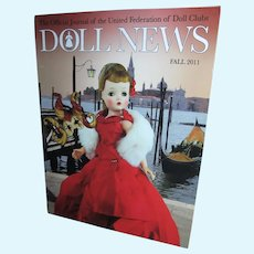 Doll News Fall 2011 Featuring Cissy with Fabulous Article and Stunning Photos!