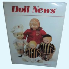 UFDC Doll News Summer 1988 Very Early Issue!