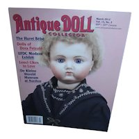 Antique Doll Collector March 2012 Mint Condition!