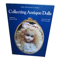 Collecting Antique Dolls Book by Lydia and Joachim F. Richter