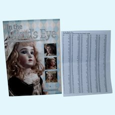 Theriault's In The Mind's Eye Book with Prices Realized Sheet!
