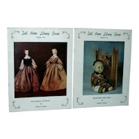 Doll Home Library Series by Marlowe Cooper Volume 5 and 10 Booklets