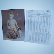 The Keepsakes of Kay Pye an Estate Auction by Frashers with Prices Realized Sheet!