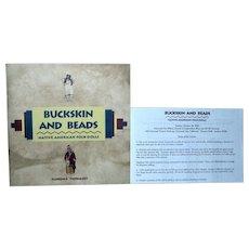 Florence Theriault Buckskin and Beads Native American Folk Dolls Catalog