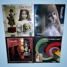 Theriaults Lot of 4 Auction Catalogs Dreams Silhouettes Crinolines I Made My Song A Coat