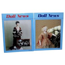 Lot of 2 UFDC Doll News