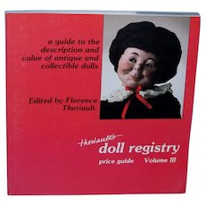 Theriaults Doll Registry Volume III