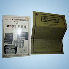 Price and Identification Guide to Antique Trunks Booklet