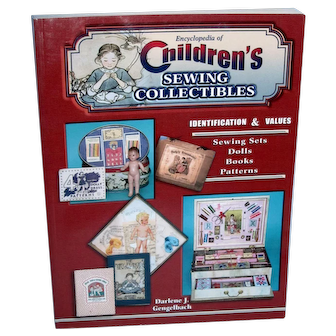 Encyclopedia of Children's Sewing Collectibles Book Brand New!