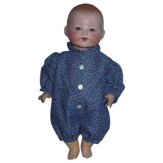 """AM Germany 351 Bisque Head 15"""" Baby on Jointed Composition Body!"""