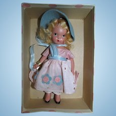 Vintage 1930s Nancy Ann Storybook #127 Merry Little Maid Mint in Box!