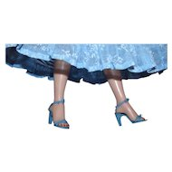 """3 Pair of Blue High Heels for your 18-20"""" Revlon Fashion Dolls Mint!"""
