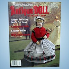 Antique Doll Collector September 2018 Kestner Babies, Pattern outfit for Huret