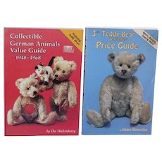 1948-1968 Collectible German Animals and 3rd Teddy Bear & Friends Books!