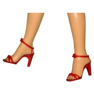 """3 Pair of Valentine RED High Heels for your 18-20"""" Revlon and Fashion Dolls!"""