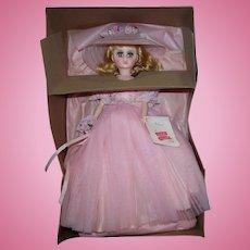 "Vintage Madame Alexander 17"" Elise Pink Bridesmaid #1655 from 1982 Pristine Mint in Box!"
