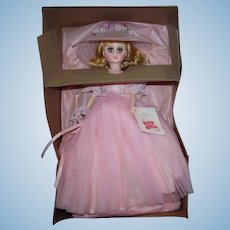 "Vintage Madame Alexander 17"" Elise Pink Bridesmaid #1655 from 1982 Pristine Mint in Box!"