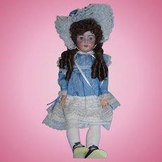 """33"""" Heinrich Handwerck Simon & Halbig German Bisque Head Child Doll!"""