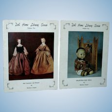 Doll Home Library Series Volume 5 and Volume 10 by Marlowe Cooper!