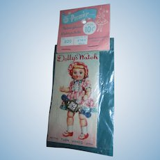 Vintage Dolly's Watch Wristwatch Mint on Card!