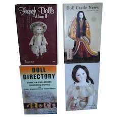 Lot of 4 Books for Antique Dolls!