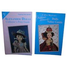 2 Madame Alexander Doll Value Guides by Glenn Mandeville!