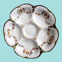 Exquisite ~ Antique Oyster Plate ~ English!