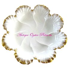 Quality Large Oyster Plate by Lenox