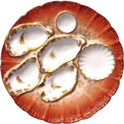 Awesome Antique Haviland Oyster Plate