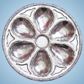 Antique Oyster Plate ~   GORHAM ~ Silver!