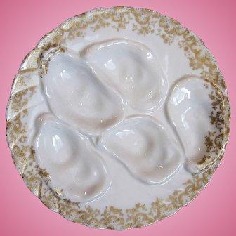 Antique Oyster Plate ~ Haviland ~ Decorators!