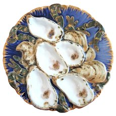 Antique Presidential Oyster Plate ~ Authentic