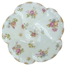 'Happy' Antique Haviland Oyster Plate