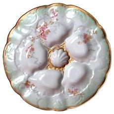 Fine Antique Oyster Plate ~ Elite