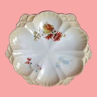 Antique Oyster Plate ~ Doulton ~ English