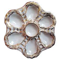 Antique Oyster Plate ~ Richard Klemm
