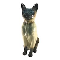 Beswick Seated Seal Point Siamese Cat Fireside Model Series 2139