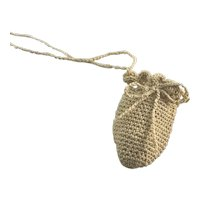 Vintage Crocheted Reticule Purse for a Doll