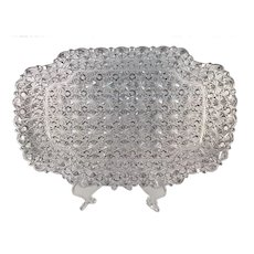 Pressed Glass Footed Dresser Tray c.1880