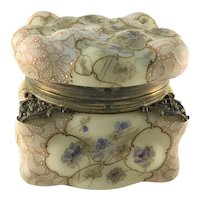 Wavecrest C.F. Monroe Egg Crate Mold Hinged Box