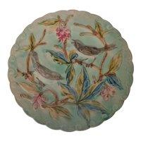 Majolica Birds & Berries Plate