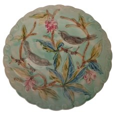 Majolica Birds & Berries Plate