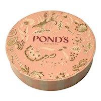 Vintage Pond's Face Powder Box